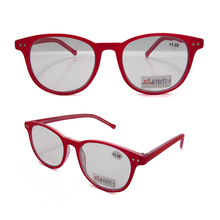 Good-looking plastic lady's photochromic bifocal reading glasses