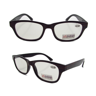 Photochromic outdoor reading sunglasses made of imitation wood