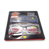 Display paper box with clear pvc window case for reading glasses eyewear package