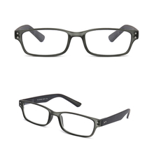 PC mens rectangular reading eyewear