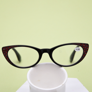 Women Cat Eye Reading Glasses Vintage Reader Fashion Flower Print