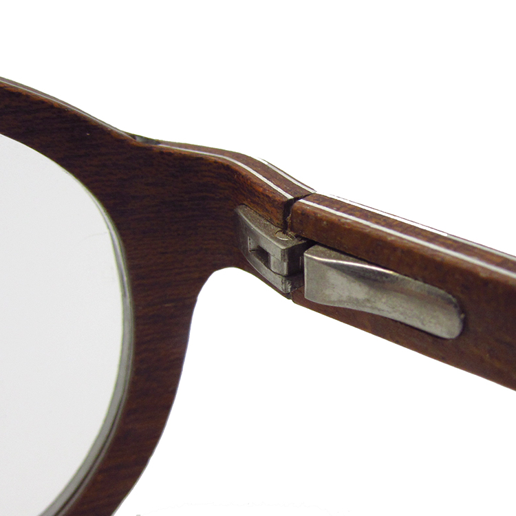 Wooden reading glasses