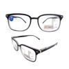 Progressive multifocus TR90 rectangle reading glasses with anti blue light