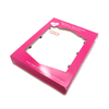Package with clear pvc window display package box for women