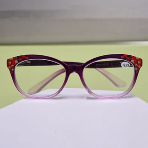 Women's Print Fashion Vintage Flower Readers Resin PC Reading Glasses