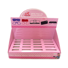 Display box for nose clip reading glasses