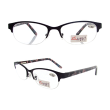 Half metal reading glasses