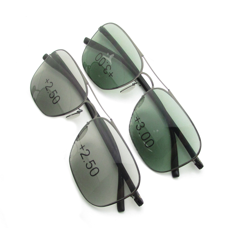 Progressive multifocal reading sunglasses for men & women - Trifocal reader sunglasses