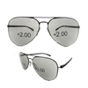 Aviator progressive mutifocus reading sunglasses men's readers sunglasses