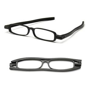 Rotation floding reading glasses