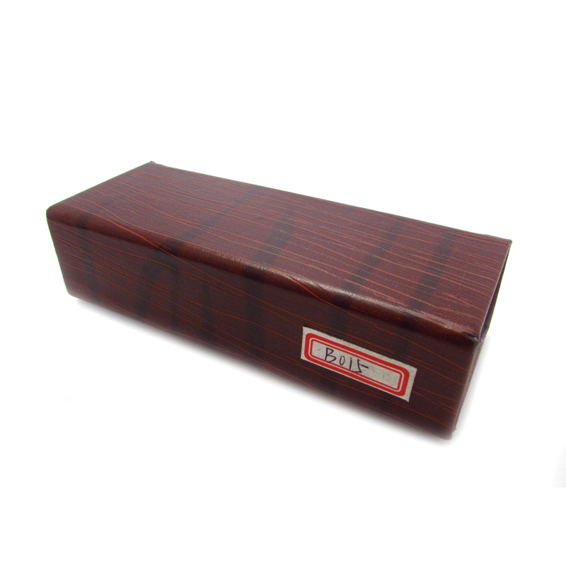 PU readers foldable box reading eyewear case packaging
