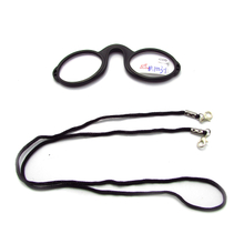 Protable Neck Hanging Necklace No Legs Reading Glasses For Men Women Presbyopia Eyewear Eyeglasses