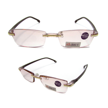 Anti blue light rimless computer reading glasses
