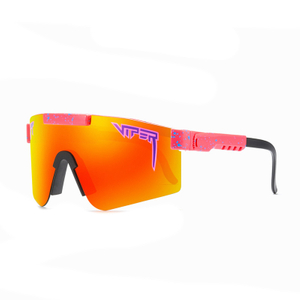 2021 Pit-Viper big Sun Glasses oversized TR90 Frame Windproof TAC Polarized Sport Bike Cycling Sunglasses For Men/Woman