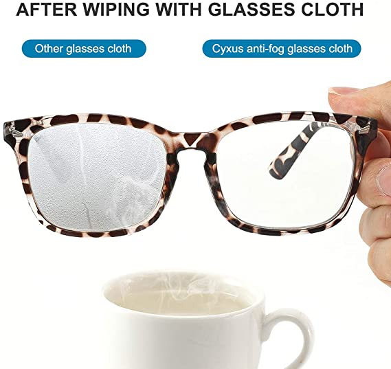Anti fog lens cleaner cloth Microfiber bag glasses cleaning cloth