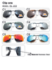Hot Sell Mens Womens Polarized Clip On Sunglasses Driving Night Vision Anti UVA Sunglasses Clips Riding
