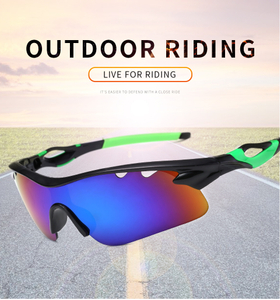 Sports Sunglasses Photochromic Lens UV400 Protection with 5 Lenses for Cycling Fishing Driving