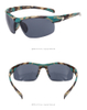 Men Outdoor Retro Pc Frame Colorful Mirror Custom Cycling Glasses Sport Sunglasses