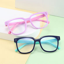 Kids Glasses Blue Light Blocking Glasses Boy Girls Computer Transparent Eyeglasses Children Optical Frame Eyewear