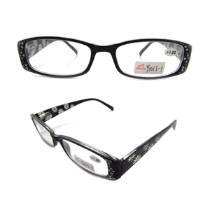 Diamond-studded reading glasses for women