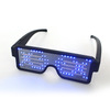 LED concert masquerade eyewear bar party net celebrity festival celebration luminous technology dynamic glasses atmosphere cheer