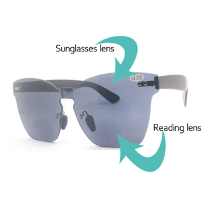 PC bifocal readers sunglasses